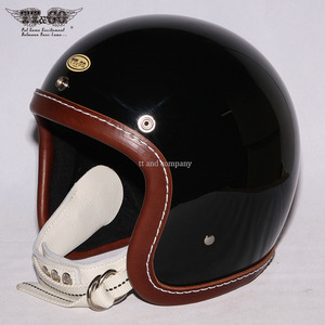 TT&CO 500-TX Machining Rim Shot Brown Leather - Black