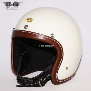 TT&CO Super Magnum<br>Leather Rim Shot Brown - Ivory