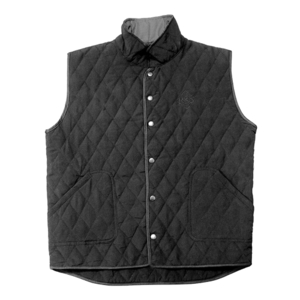 Ride & Sons Thermal Quilted Vest - Black 30%세일