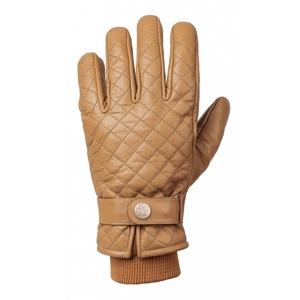 Ride & Sons The Bullit Insulated Leather Gloves - Camel