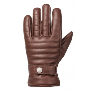 Ride & Sons The Empire Insulated Leather Short Gloves - Brown