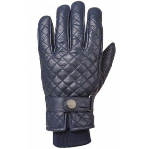 Ride & Sons The Bullit Insulated Leather Gloves - Mdinight Blue