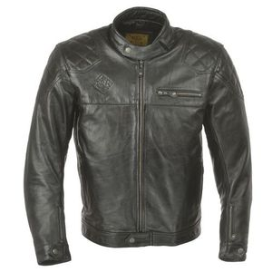 Ride & Sons Ace Leather Jacket - Black 30%세일