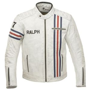 Ride & Sons Hero Leather Jacket Limited Edition - Used White