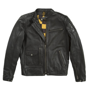 Fuel X Helstons Dirt Track Leather Jacket - Black [20% 할인]