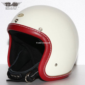 TT&CO Super Magnum<br>Leather Rim Shot Vintage Red - Ivory