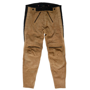 [엘솔리타리오] El Solitario <br>Rascal Leather Pants Beige