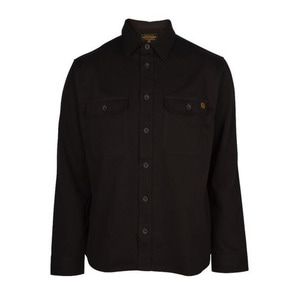 [렌치몽키스]Wrenchmonkees<br>Work Shirt II Black