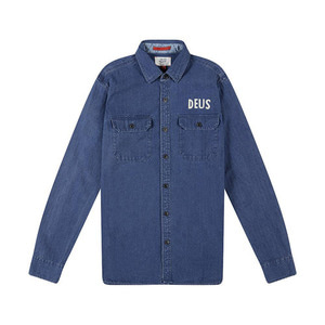 [데우스]DEUS EX MACHINA<br>Maxwell Denim Overshirt<br>[40% 시즌오프]