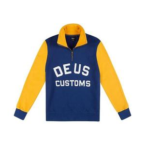 [데우스]DEUS EX MACHINA<br>Handsford Half Zip - Blue/Yellow<br>[40% 시즌오프]