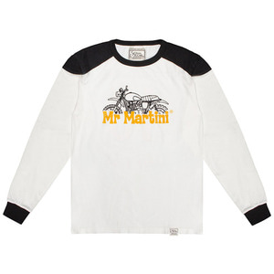 [미스터마티니] Mr.Martini<br>Scrambler Jersey Off White