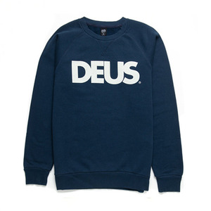 [데우스]DEUS EX MACHINA<br>All Caps Crew - Navy