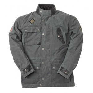 Ride & Sons Escape Waxed Jacket - Grey 30%세일