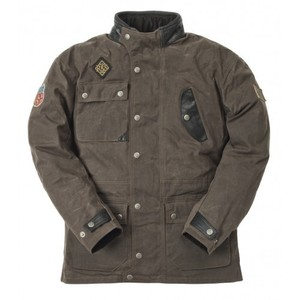 Ride & Sons Escape Waxed Jacket - Brown 30%세일