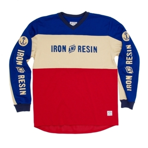 Iron & Resin National Jersey - Red / Blue [40% 할인]