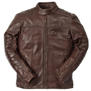 Ride & Sons Getaway Leather Jacket - Brown 30%세일