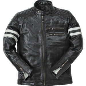 Ride & Sons Magnificent Leather Jacket - Black 30%세일