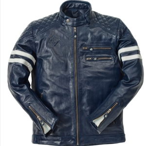 Ride & Sons Magnificent Leather Jacket - Midnight 30%세일