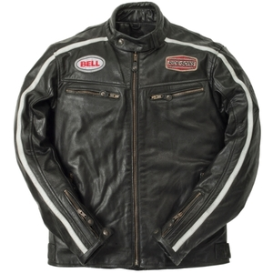 Ride & Sons Heritage Racing Leather Jacket - Black (30%세일)
