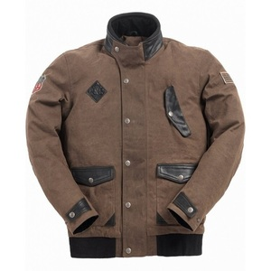 Ride & Sons Runaway Waxed Cotton Jacket - Brown 30%세일
