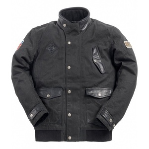Ride & Sons Runaway Waxed Cotton Jacket - Black 30%세일