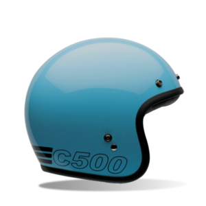 Bell Custom 500 - Retro Blue